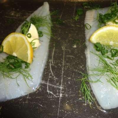 zeetongfilet met kruiden en citroen